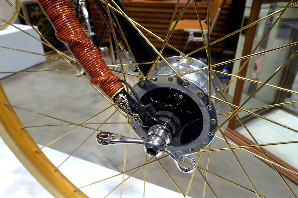 NAHBS 2018 Ascari bicycle details