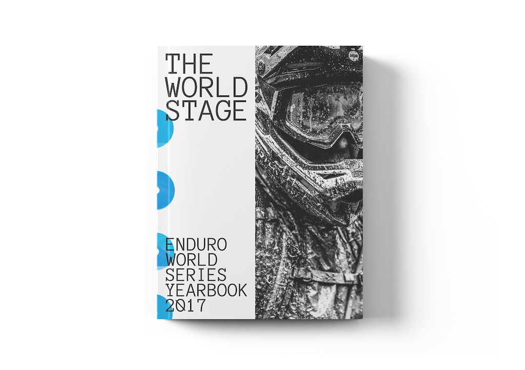 The World Stage book the complete unofficial Enduro World Series yearbook.