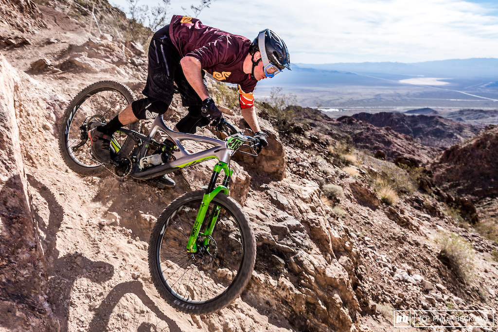 Evan Geankoplis Ibis DVO WTB notched a big win at Mob n Mojave leveraging a smokin hot run on the daunting Snakeback trail during Stage 1 to set himself up for the Pro Open Men s Enduro crown with a total time of 24 13.460.