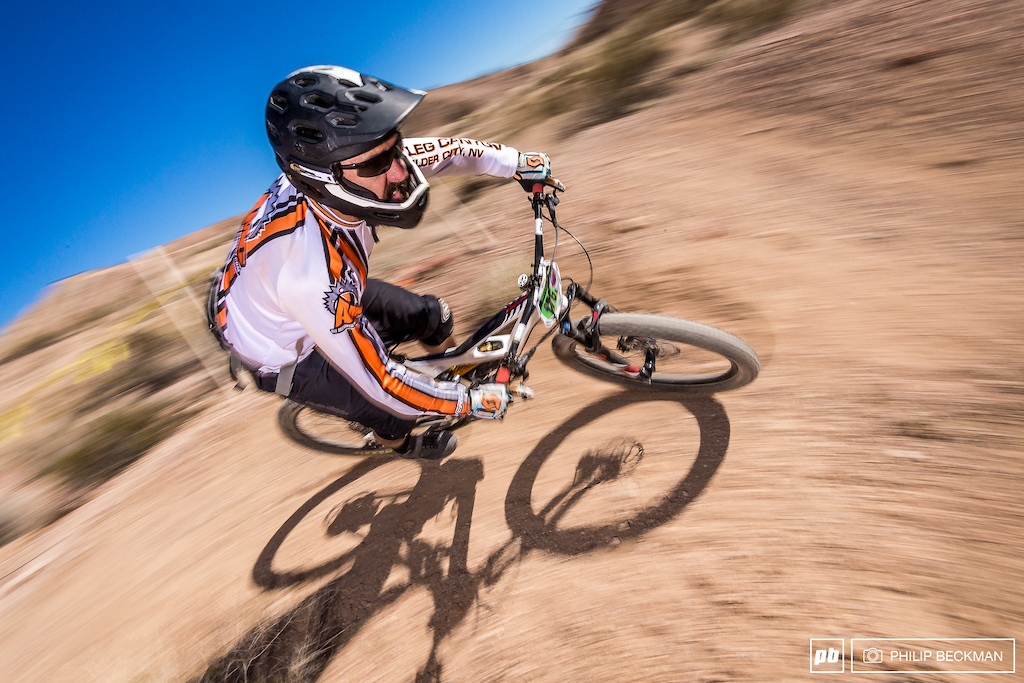 All Mountain Cyclery s Eric Smith grabbed best time on Stage 2 and third overall in the Pro Open Men Enduro just nine seconds off the win.