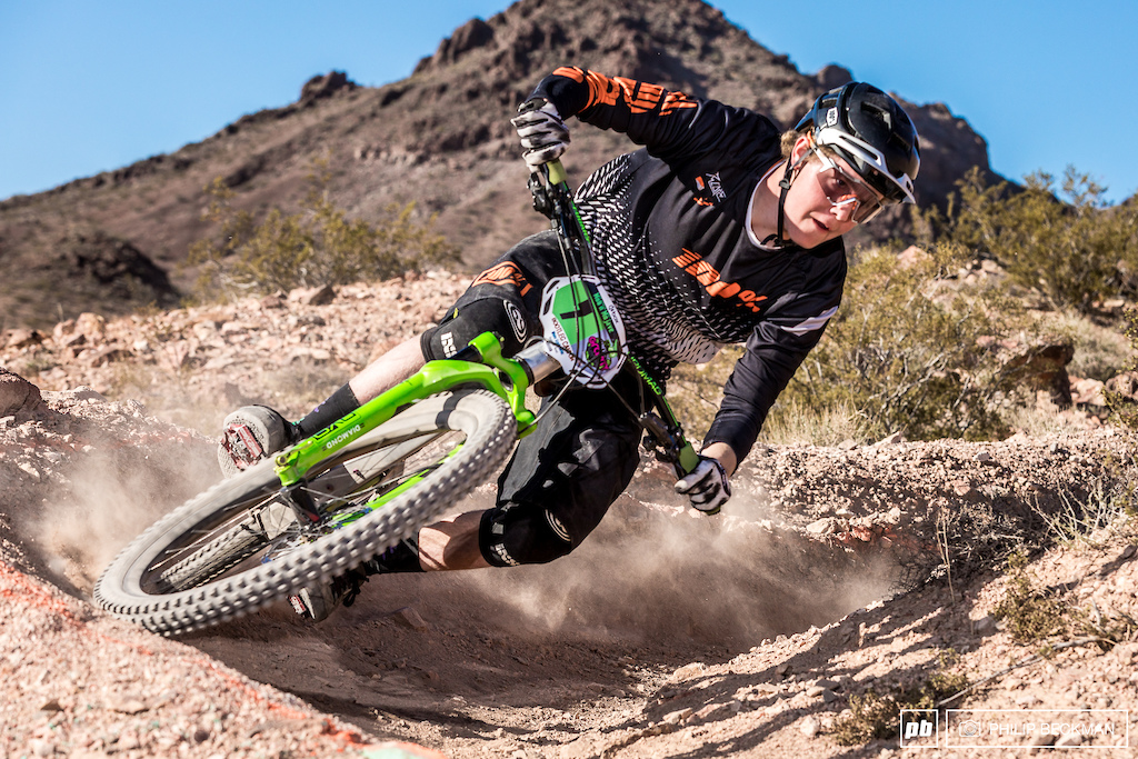 Category 1 is calling. Hard charging Eli Smith smoked his Cat 2 classes in both Dual Slalom and Downhill.