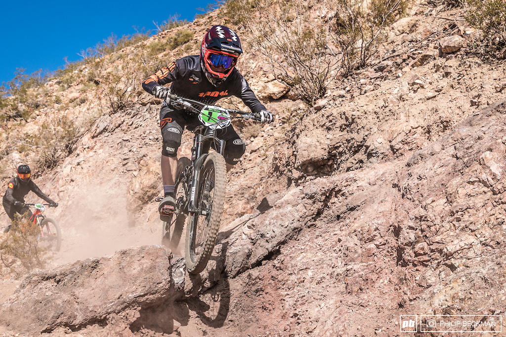 Colorado s Eli Smith High Gear Cyclery had a great weekend winning his Cat 2 races in both Dual Slalom and Downhill.