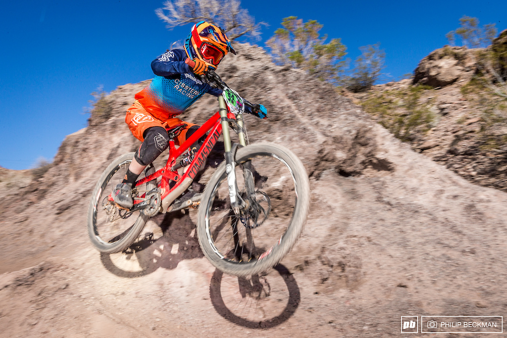 Keep an eye on this young shredder. McKenna Merten Cissters Racing Comm landed another Cat 1 Women 15-29 DH win.