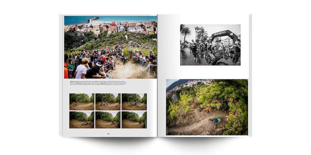 A spread from The World Stage EWS yearbook.