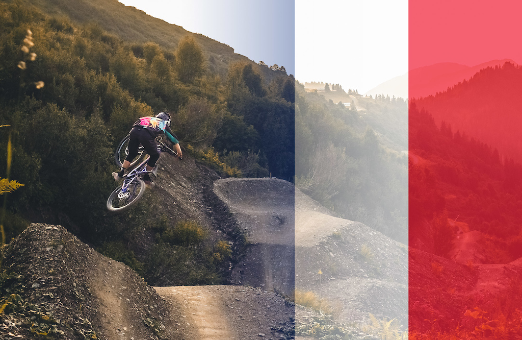 Banging Laps of Chatel Bike Park with Olivier Cuvet - Video