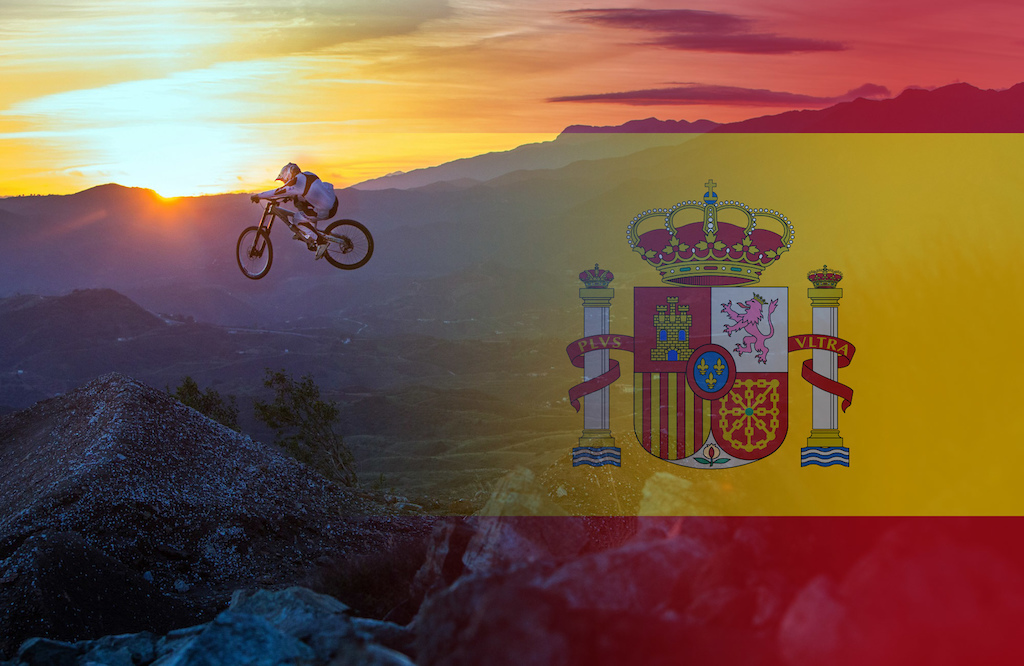 Few photos for a photo article on riding in South Spain, Malaga with RoostDH. Photo Jacob Gibbins
