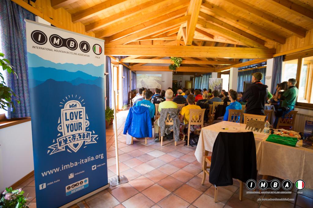 IMBA Italia 2017 Trail Building School in Val di Sole Italy