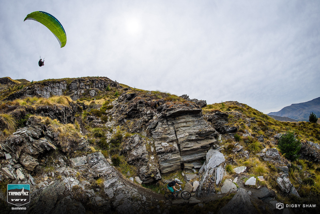Extreme mountain biking and paragliding. How much more Queenstown could you get