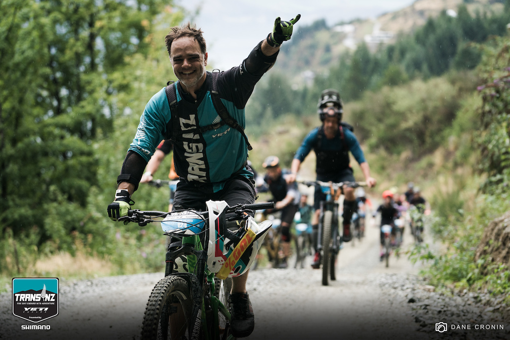 The stoke was high leading into the fifth and final day of the Yeti Trans NZ. With only three stages and the most magnificent views of the week to be had riders are excited to get the day underway.