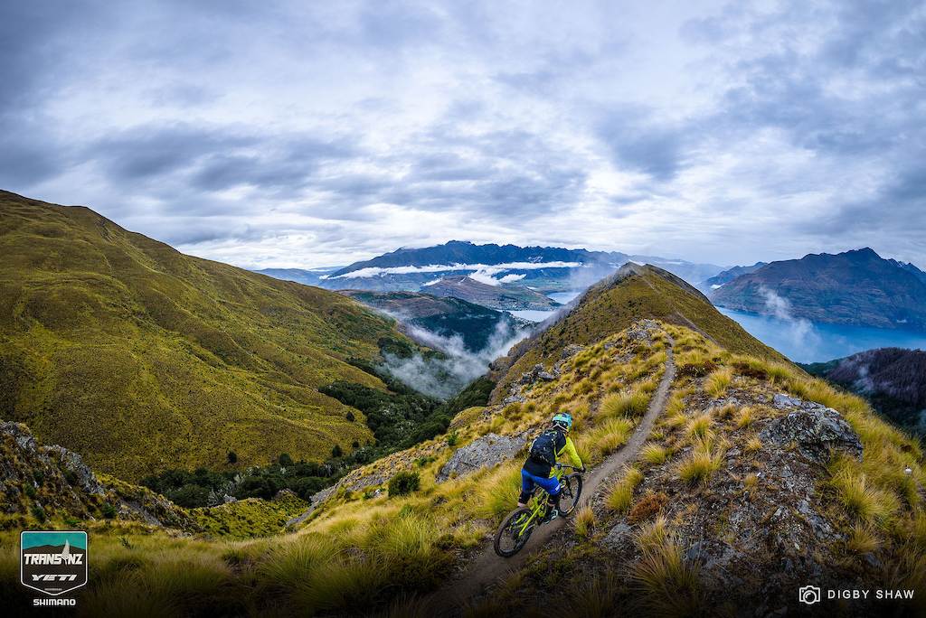 The views from the top of Stage 2 are reason alone to attend the Yeti Trans NZ. From racing to volunteering to capturing the moments behind the lens every person experiences a unique perspective over the week.