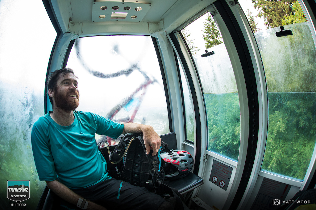 After climbing up Skyline Access Road right after breakfast only to race the gnarliest descent of the week riders were treated to a lift up the gondola before charging into the final two stages of the week.