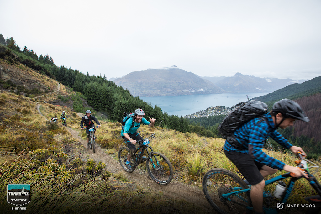 You thinking getting to the top of the longest steepest hike-a-bike is tough on Day 5 Try doing it with a 23kg camera pack. Pro photag Digby Shaw shows us how it s done. Michael Hayward cheers on his fellow media squid.