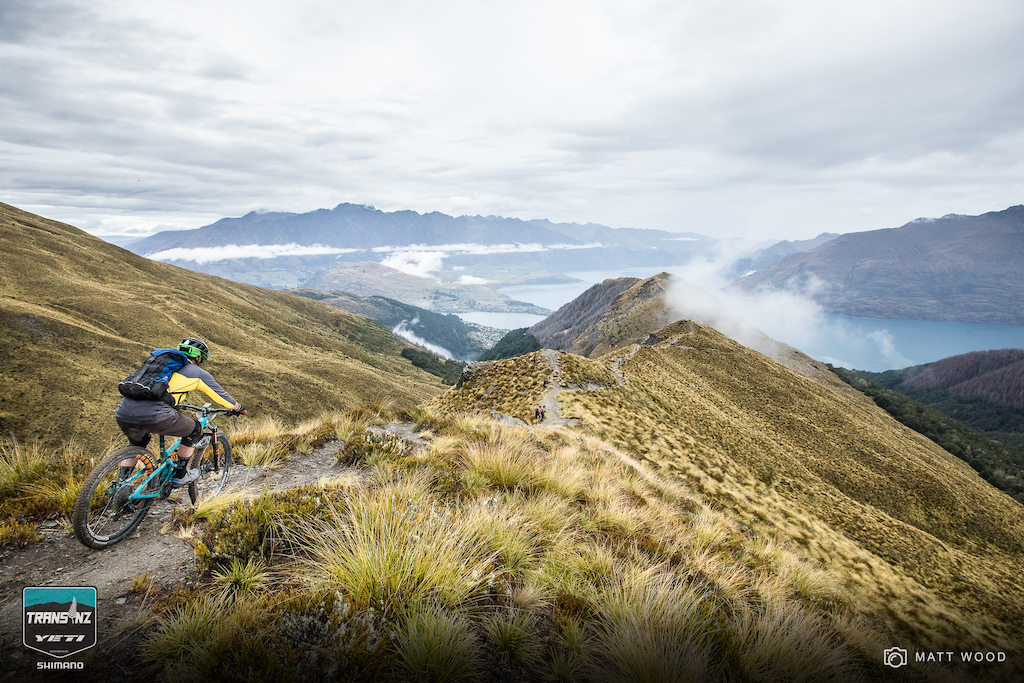 Put this descent on your lifelong bucket list. Racing your bike overlooking the Remarkables is simply... remarkable