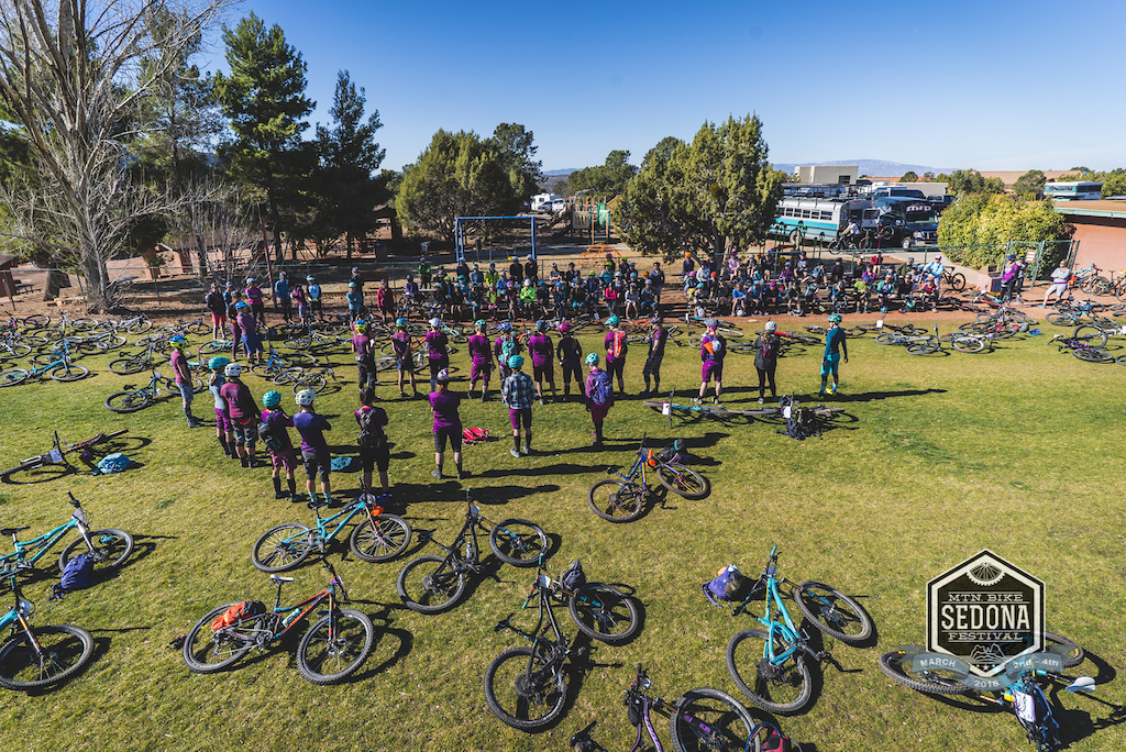 The Vida Women s clinic was full to the brim this year with over 120 ladies working on riding skills and strengthening the community of women riders.