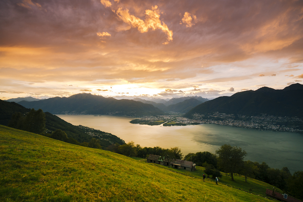 Ticino at Sunset Photo Milo Zanecchia