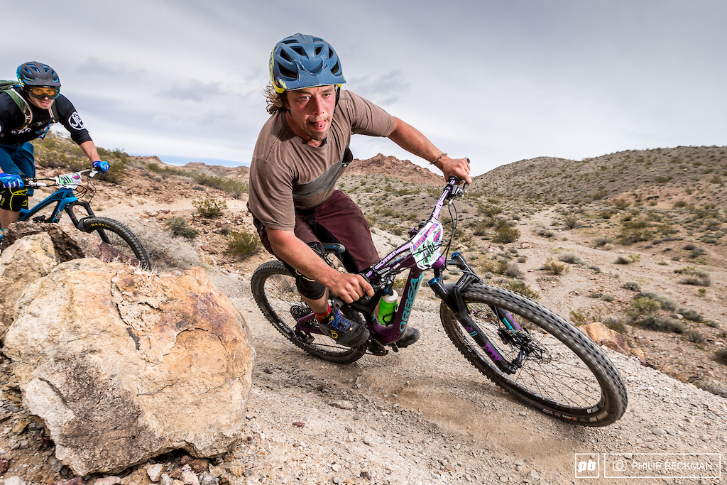 Second place in the Pro Open Men s Enduro on Saturday morning went to Jeremy David Trail Sports . He would go on to win the Dual Slalom that afternoon.