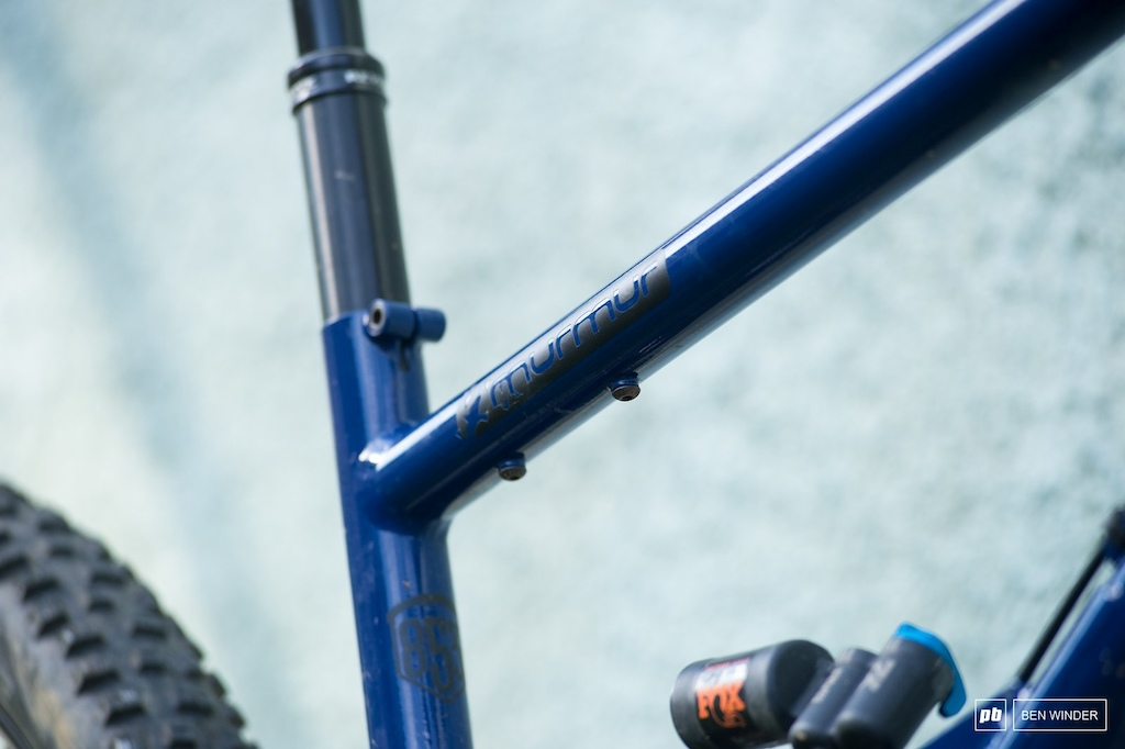Starling Murmur Review Bottle cage mounts