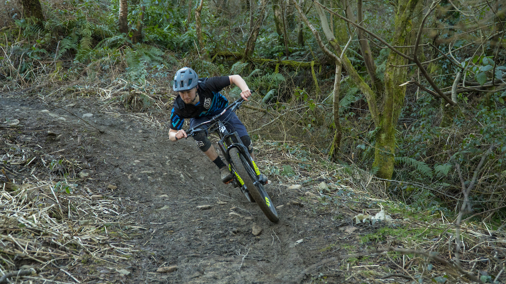 Testing New Wide Open Lapierre with Lewis Bradley