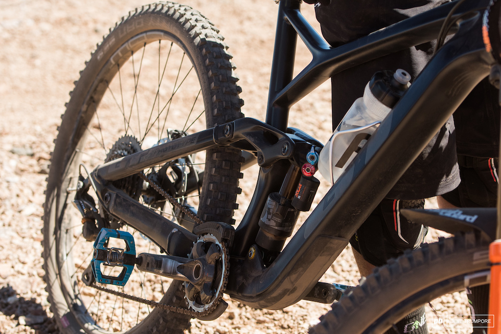 New prototype GT trail bike under Martin Maes