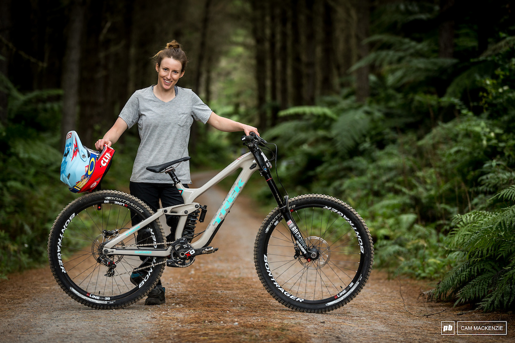 Casey Brown and her Trek Session Bike Check