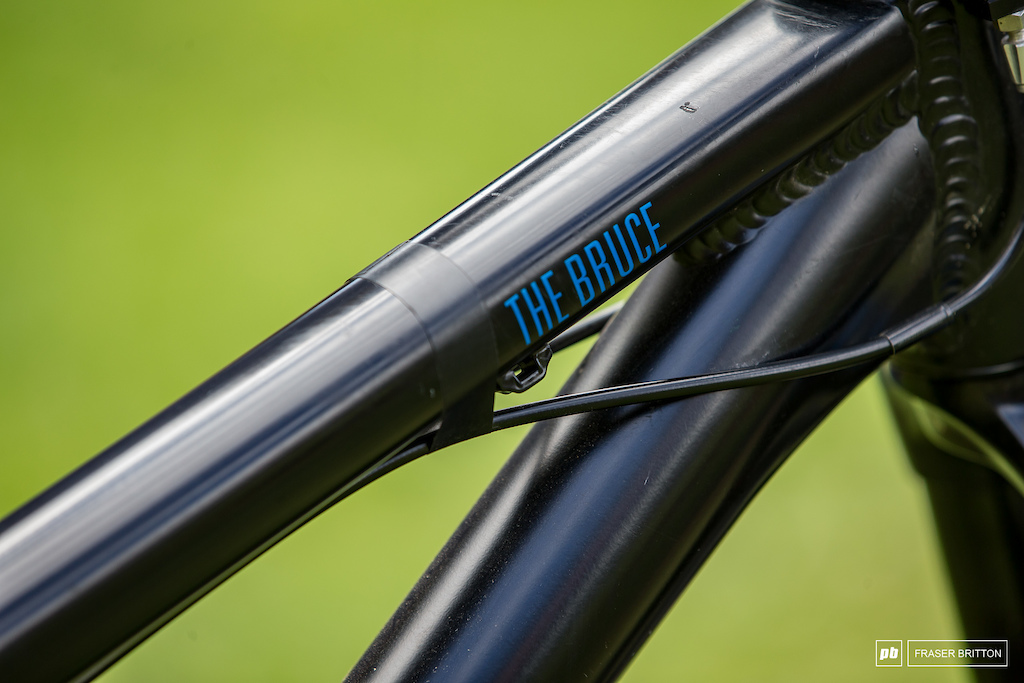 Anthony Messere s Rose Bruce slopestyle hardtail with DMT giro.