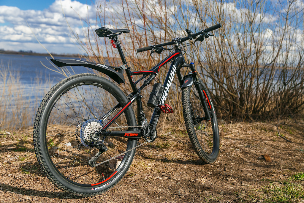 first ride on Specialized Epic 2017! Its AWESOME bike ever!!!