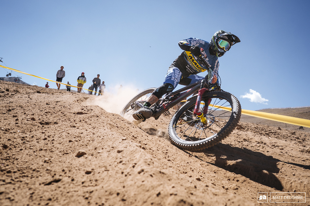 Sam Hill sits in first after day one with a stage win on two and two second place finishes.