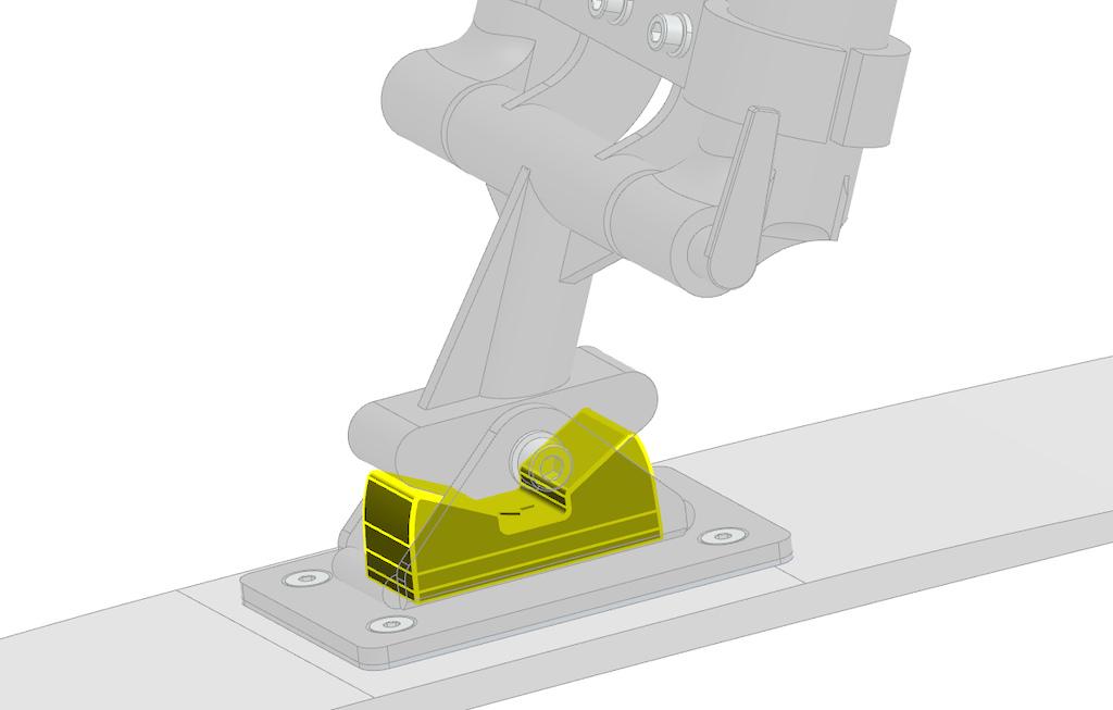 Patented Ski Retention System