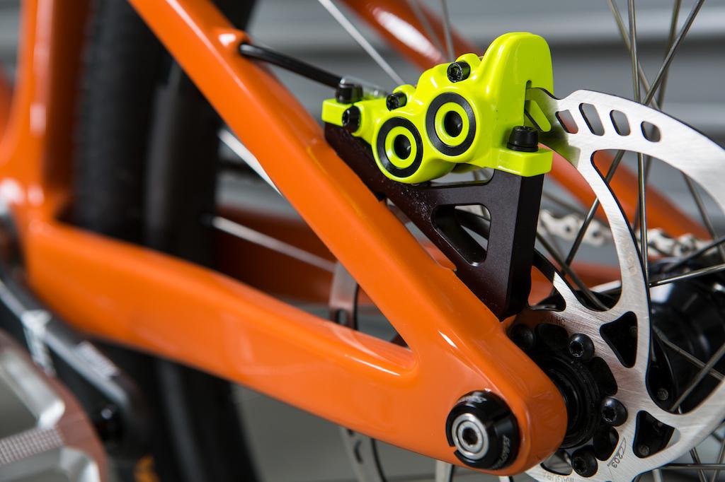 Santa Cruz Bicycles Danny MacAskill Prototype Frame