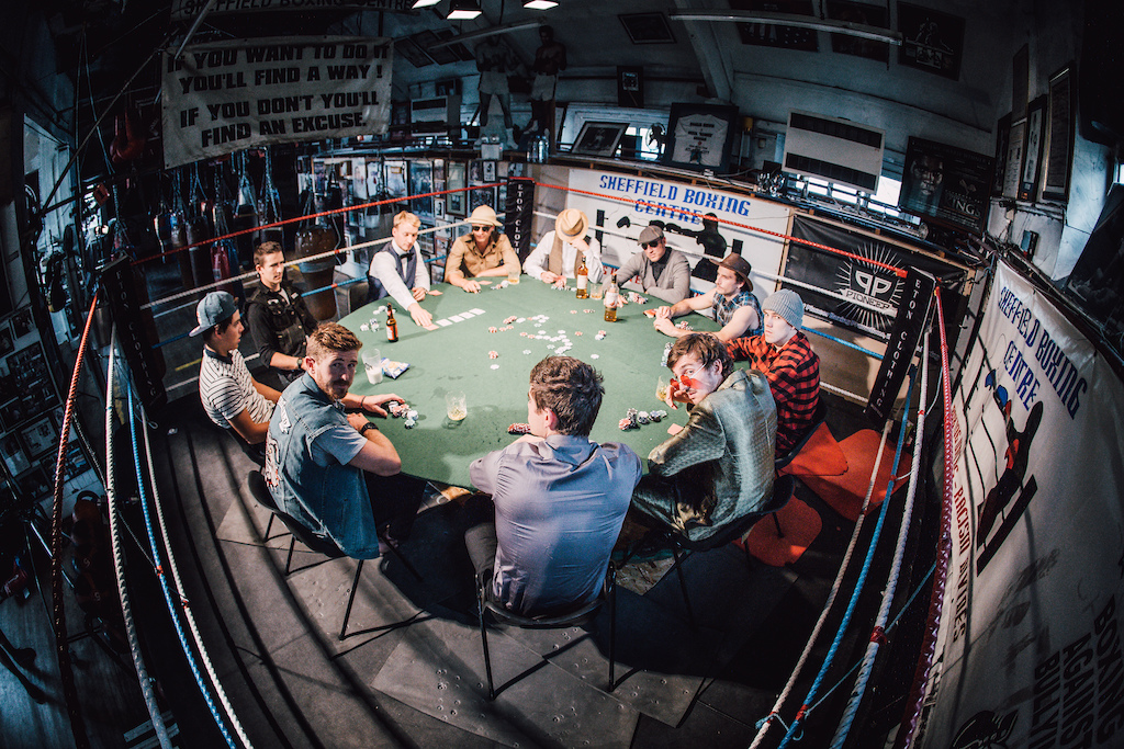 All the players around the table... Things could get loose. Photo Rich Baybutt