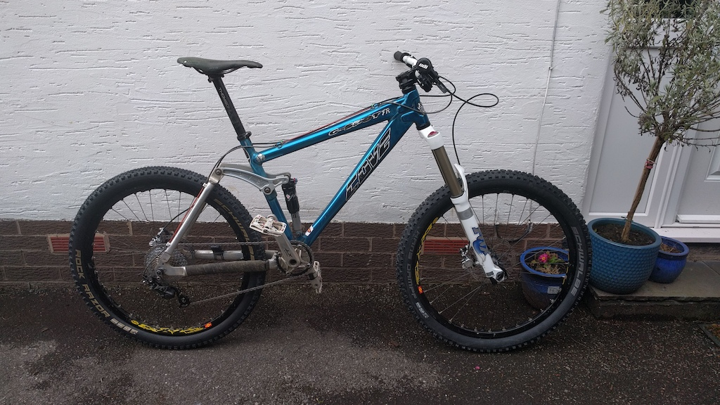 13 years of evolution - latest build 32lb 1oz now 10speed very modern