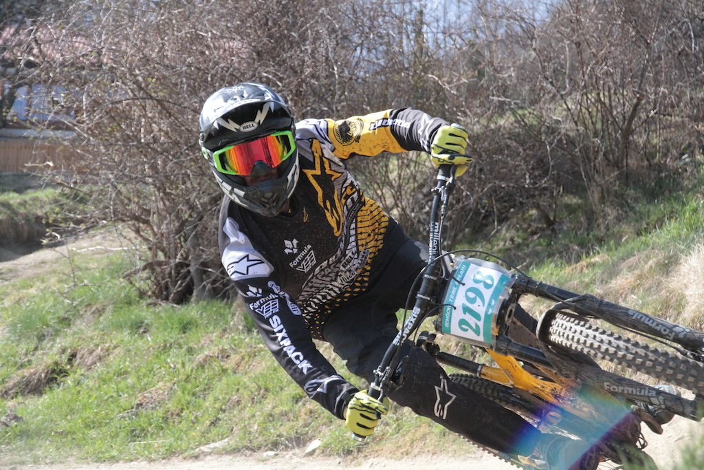 ...back on the downhill bike, pic by Piza