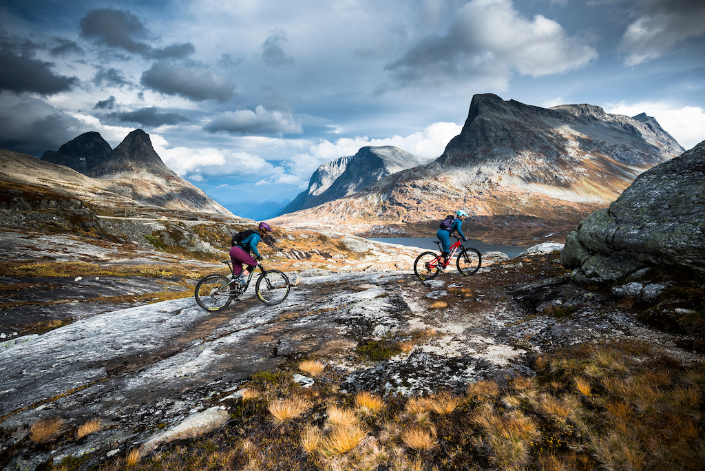 Riding Norway's western coast