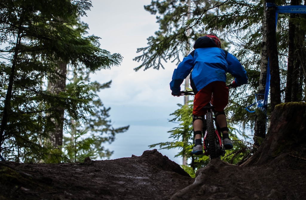 Incredible views on and off the trails at Port Angeles. Cat 3