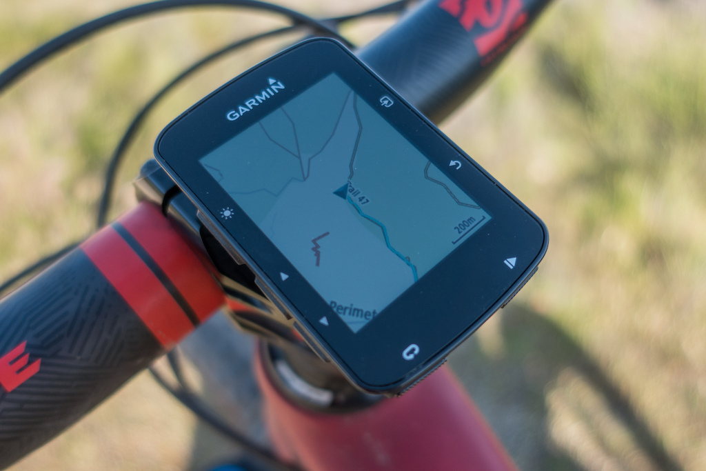 The Garmin 520 now has cycling basemaps showing mountain bike trails.