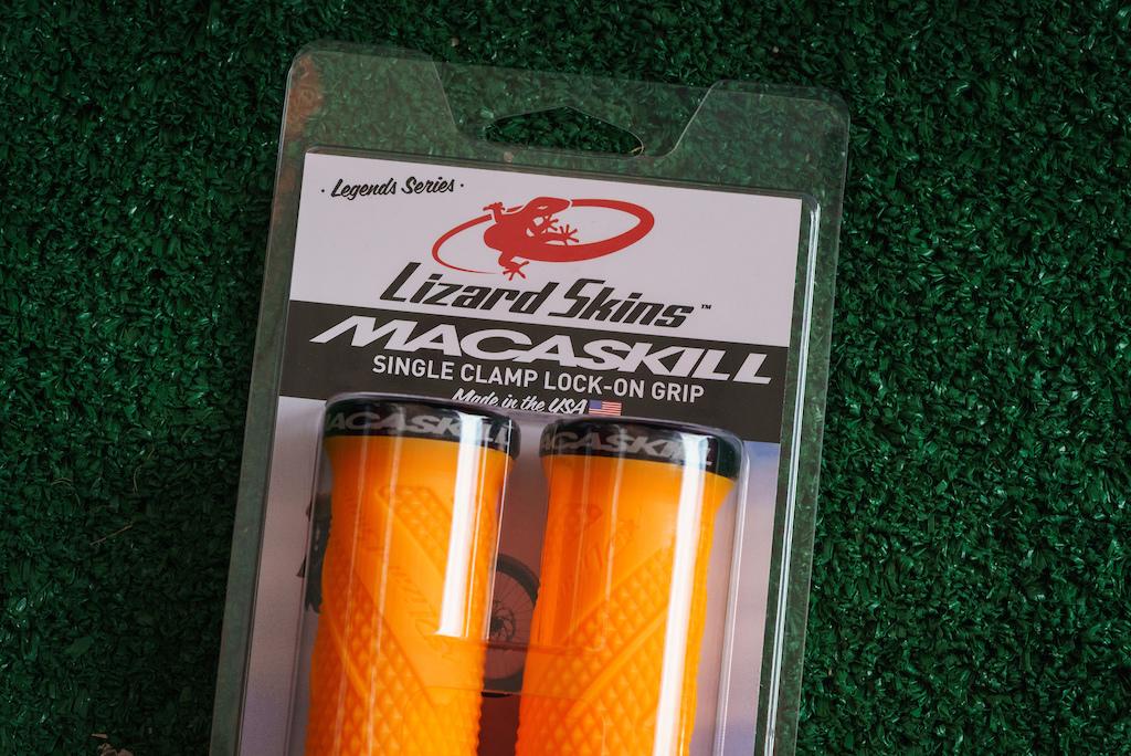 The Danny MacAskill Single Clamp Lock-On grips.