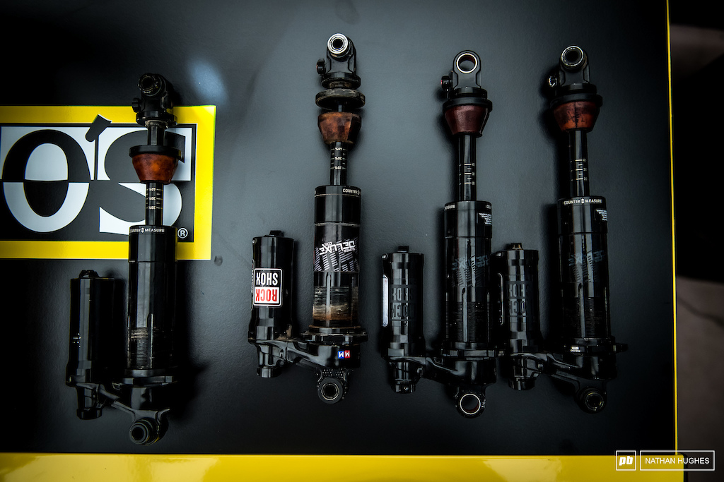 Got shocks? It woudn't be a downhill race without them. Let's keep it that way with more savage rock action like we're about to witness at this fresh venue.