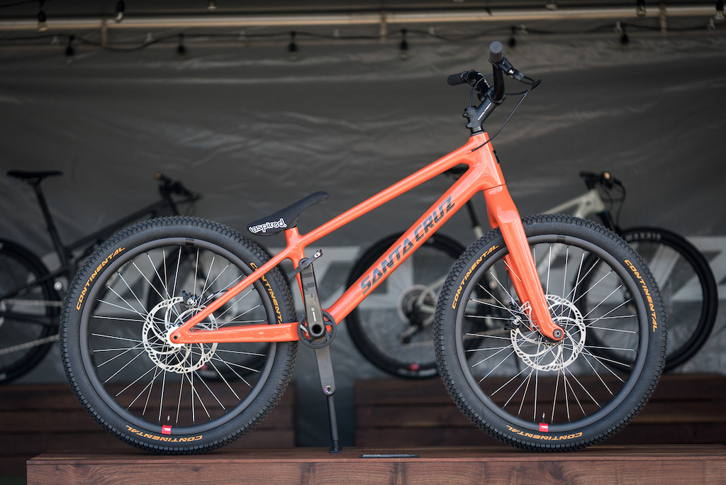 Santa Cruz Danny Mac custom trials bike. Sea Otter 2018.