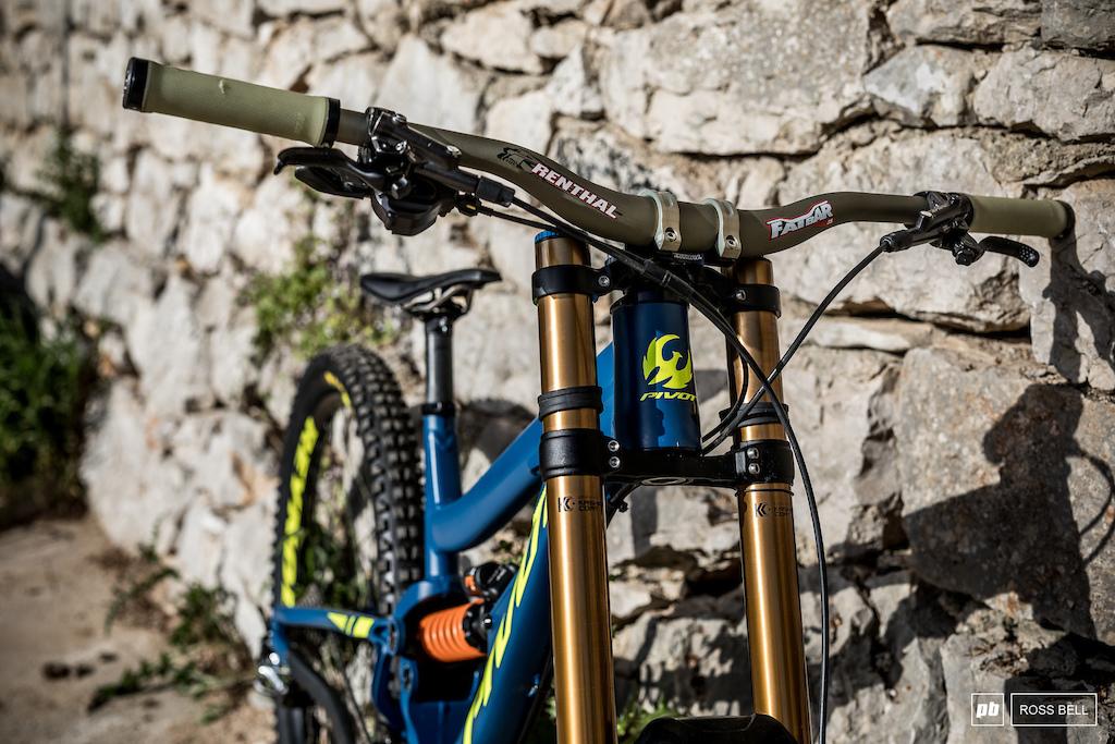 Ed Masters Pivot Bike Check