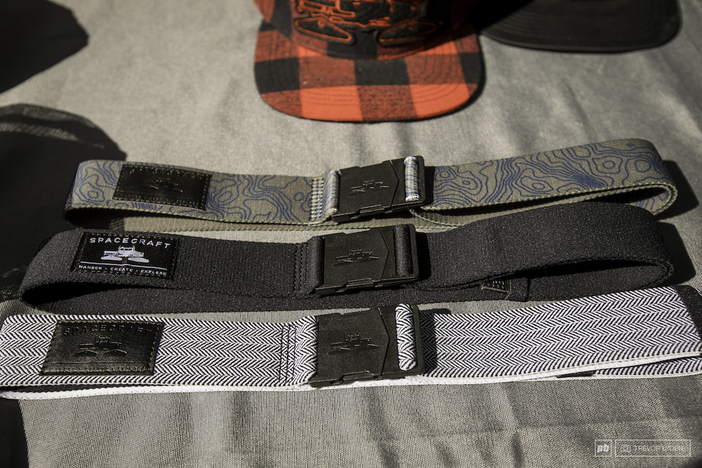 Spacecraft also introduces stretchy athletic belts for the mtb world