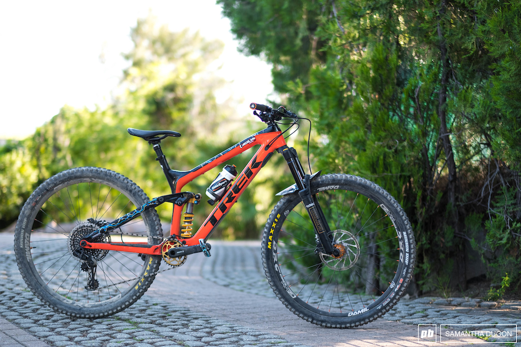 Denny Lopatos Trek Slash 9.8 29er