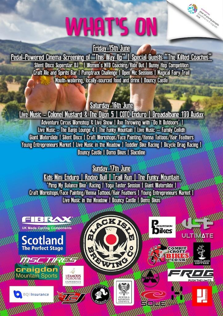 Cream o' the Croft - Scotland's MTB Festival