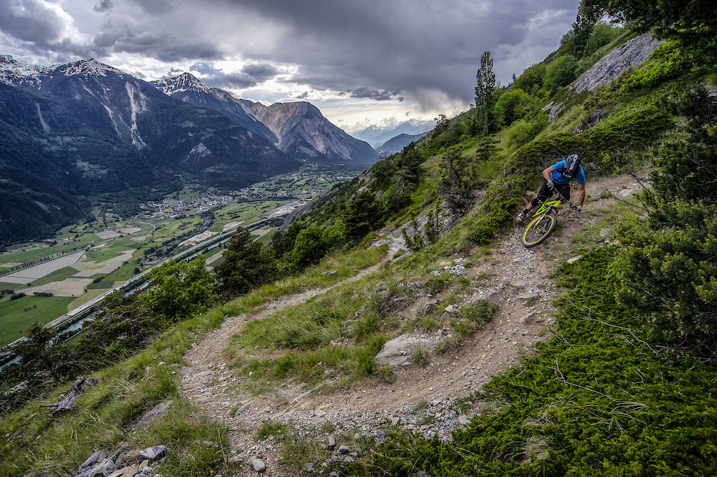 Gampel, Valais, Switzerland.  PIC © Andrew Lloyd www.andylloyd.photography