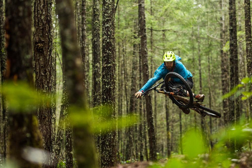 April riding in Nanaimo