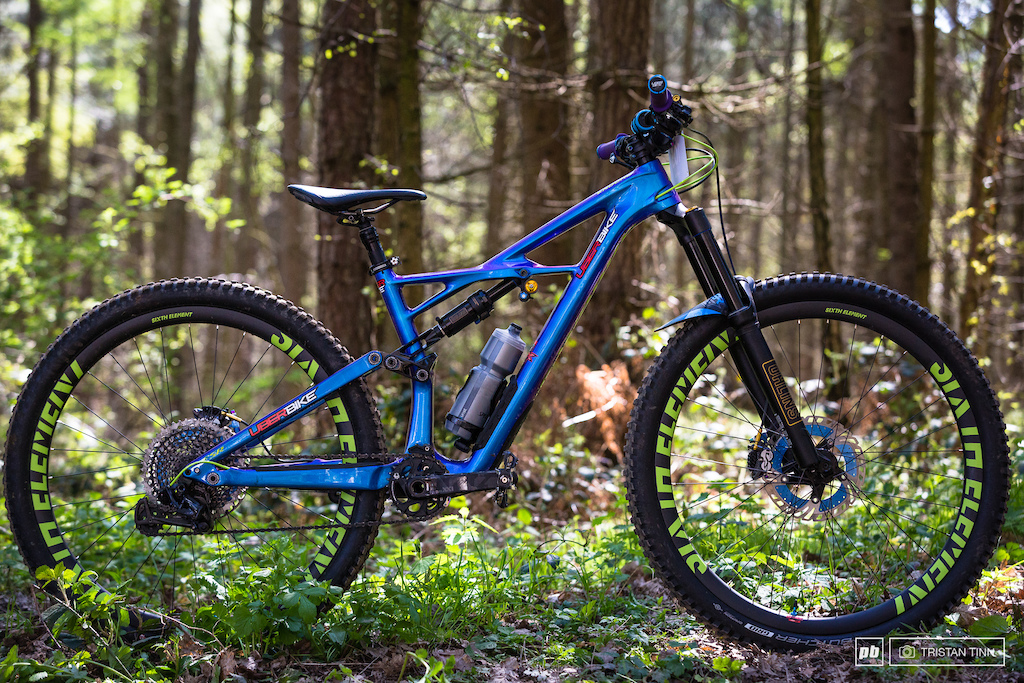 Abigale Lawton's tricked out Enduro