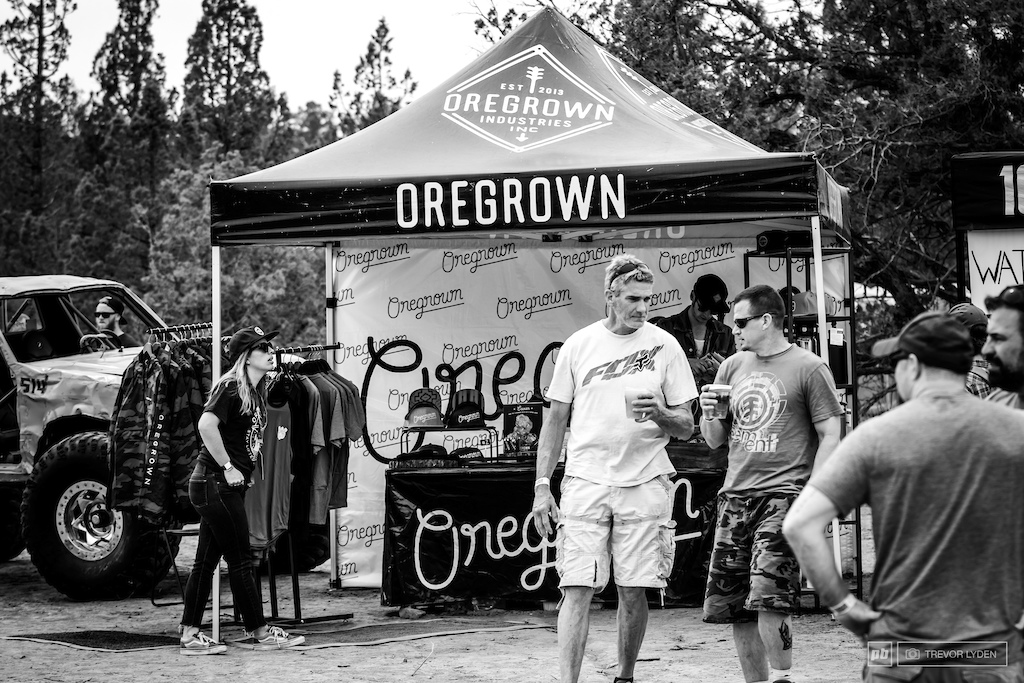 Bend based dispensary and clothing company Oregrown was another large sponsor for the event.