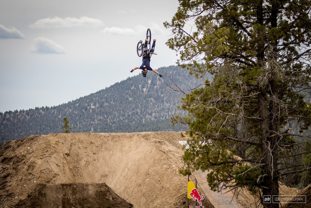 We're more familiar with watching Dusty ride various contraptions on the Nitro Circus tour, but he reminded us all that he can hang with the best freeriders too.