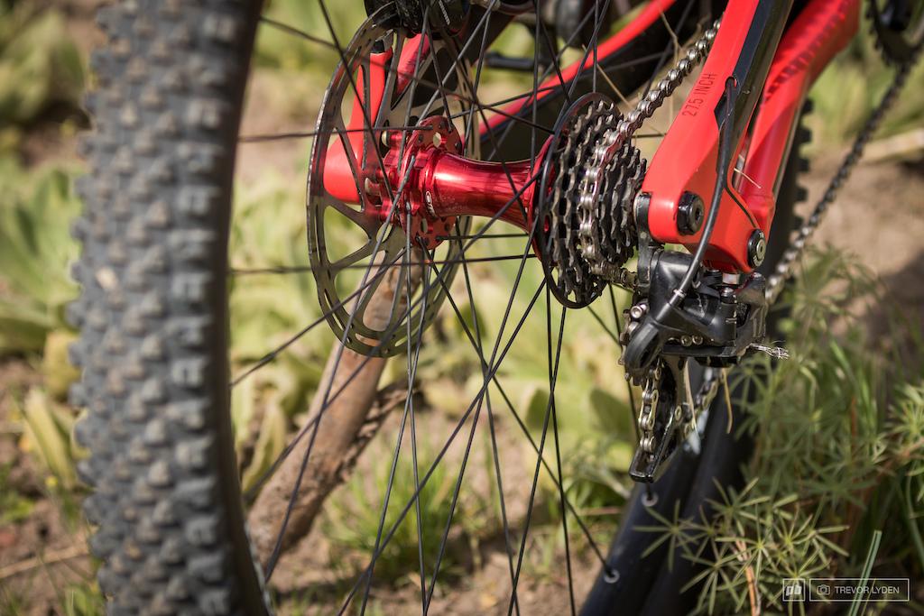 Jordie Lunn bike check