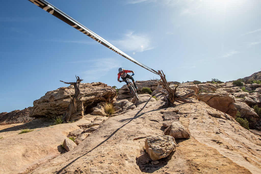 Cody Kelley races the Pro division in Round 1 of the 2018 SCOTT Enduro Cup presented by Vittoria in Moab UT on May 5 2018. Photographer Jay Dash courtesy of Enduro Cup