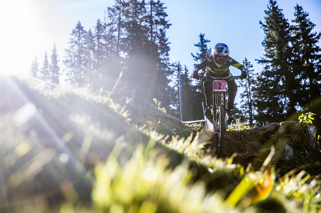 During the Lenzerheide UCI MTB World Cup stop in Switzerland. - by Sven Martin